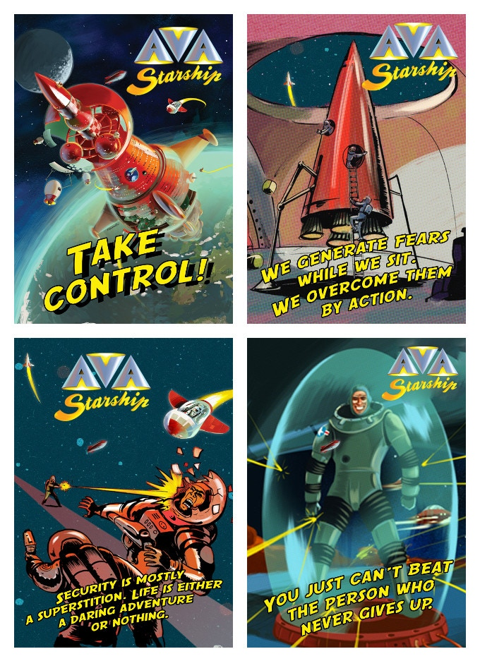 Ava Starship By Ava Games Kickstarter