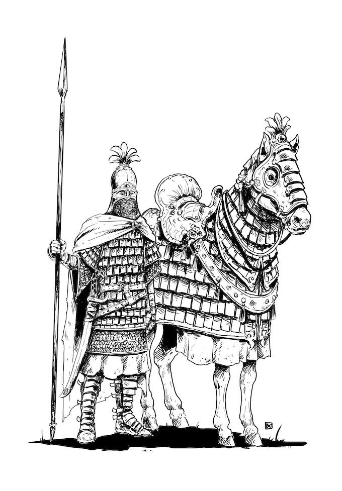 The iconic Cataphract
