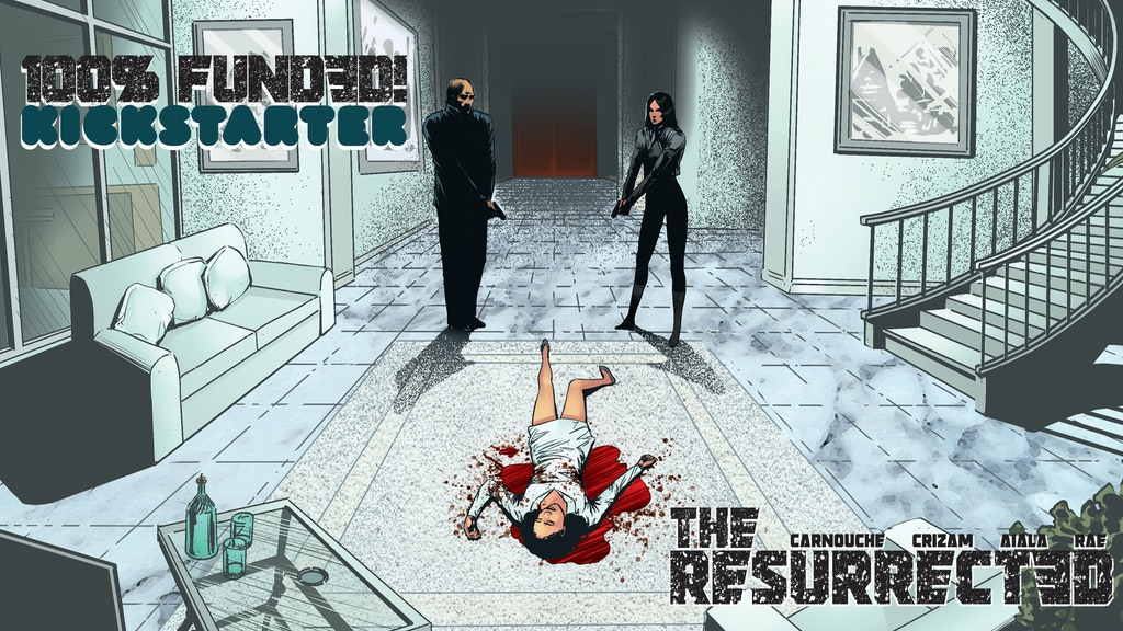 THE RESURRECTED #1 - A dark sci-fi thriller project video thumbnail