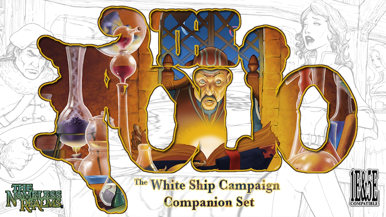 The White Ship Campaign Companion Set by Scott Taylor