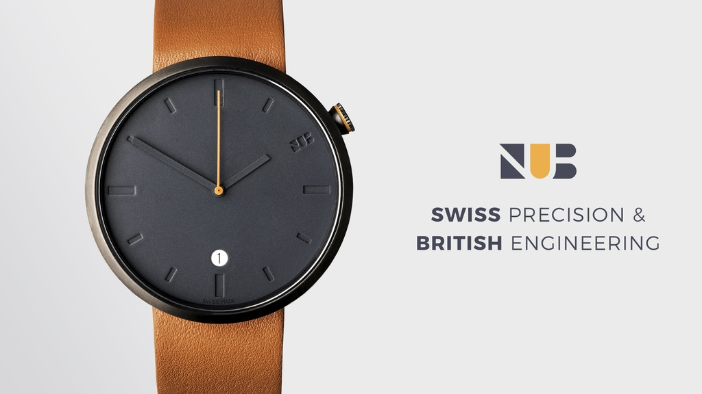 NUB Watches - Swiss Precision and British Engineering project video thumbnail