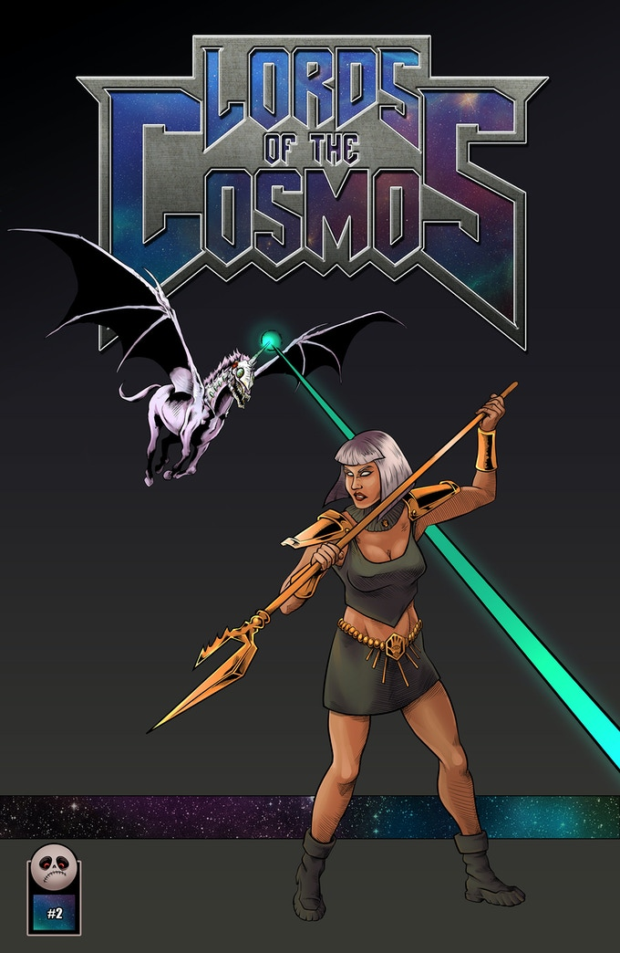 Lords of the Cosmos Issue #2 Main Cover