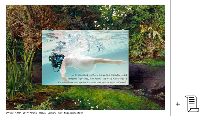 Poster of OPHELIA (signed, edition of 100) & Donor List