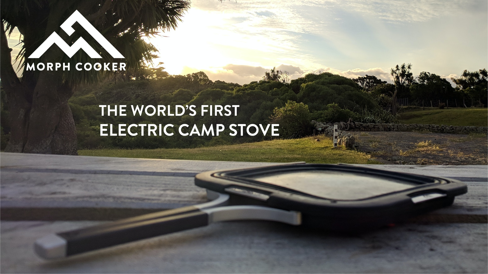 A versatile, rechargeable, electric camp stove that cooks almost any meal and provides a safer environment.