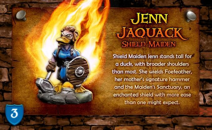 Jenn Jaquack - Shield Maiden!