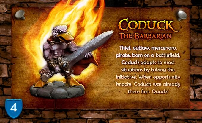 Coduck The Barbarian!