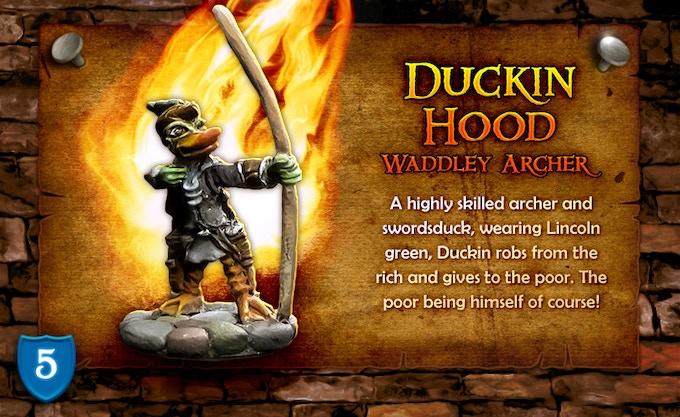 Duckin Hood - Waddley Archer!