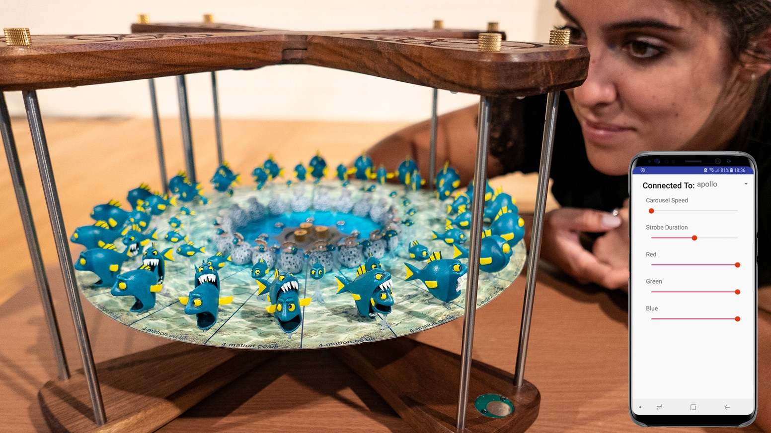 Create real magic with light. Inspire kids and adults alike with living stop-motion animations.
