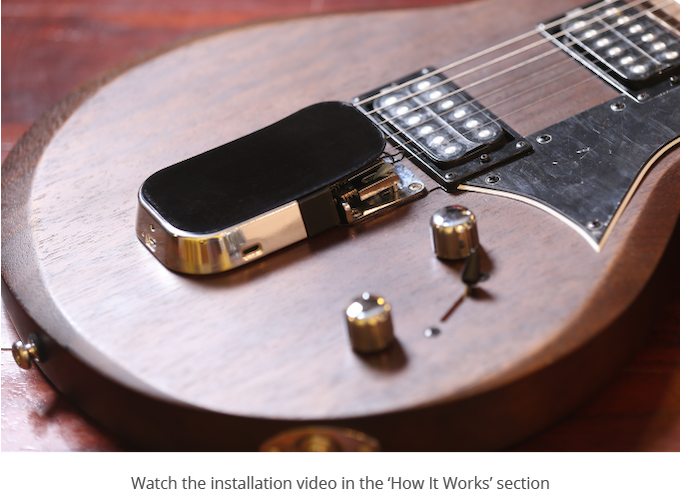 onemanband omb a new way to play guitar by onemanband kickstarter. Black Bedroom Furniture Sets. Home Design Ideas