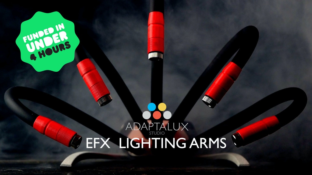 Adaptalux Studio EFX Lighting Arms project video thumbnail