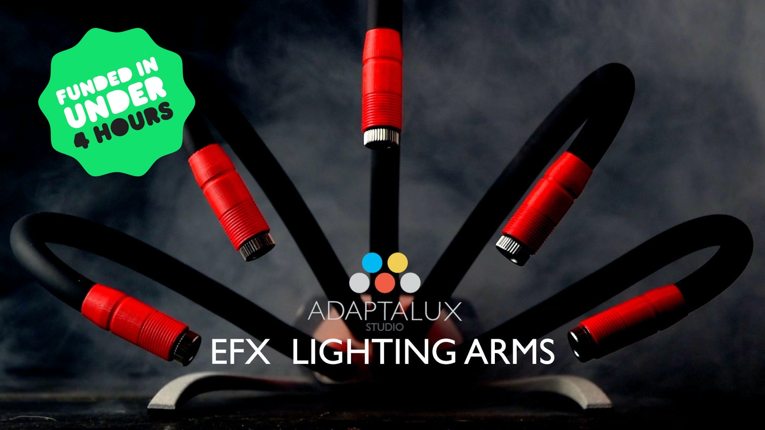 Take your creativity to the next level with special effect lighting arms for the Adaptalux Studio.