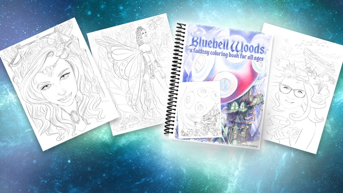 Drawing this book is a dream come true. Follow me on my first coloring book adventure.