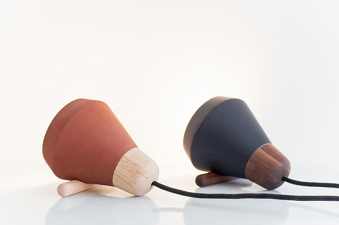 Ensemble lampara de mesa / table lamp
