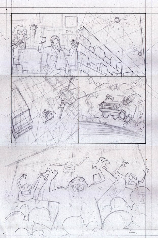 Page 2 Roughs by Ian Waryanto