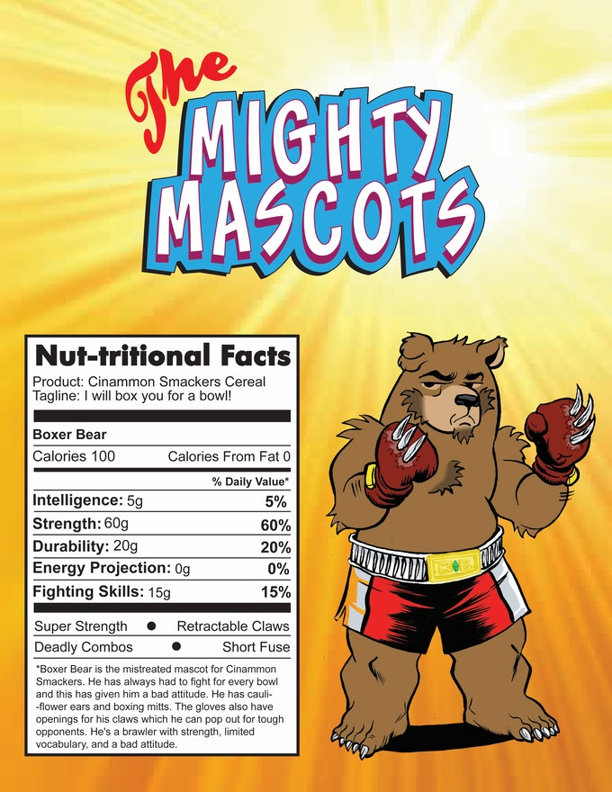 Team Muscle - Boxer Bear