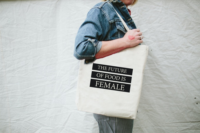 the future of food is female tote