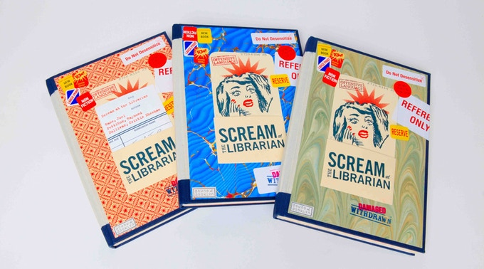 "$800, ""Scream at the Librarian,"" by Joel Rane, with illustrations by Raymond Pettibon and Cristin Sheehan Sullivan."