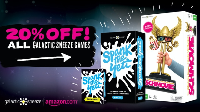 Yeti Cyber Monday Sale >> Spank The Yeti The Party Game Of Questionable Decisions By Galactic