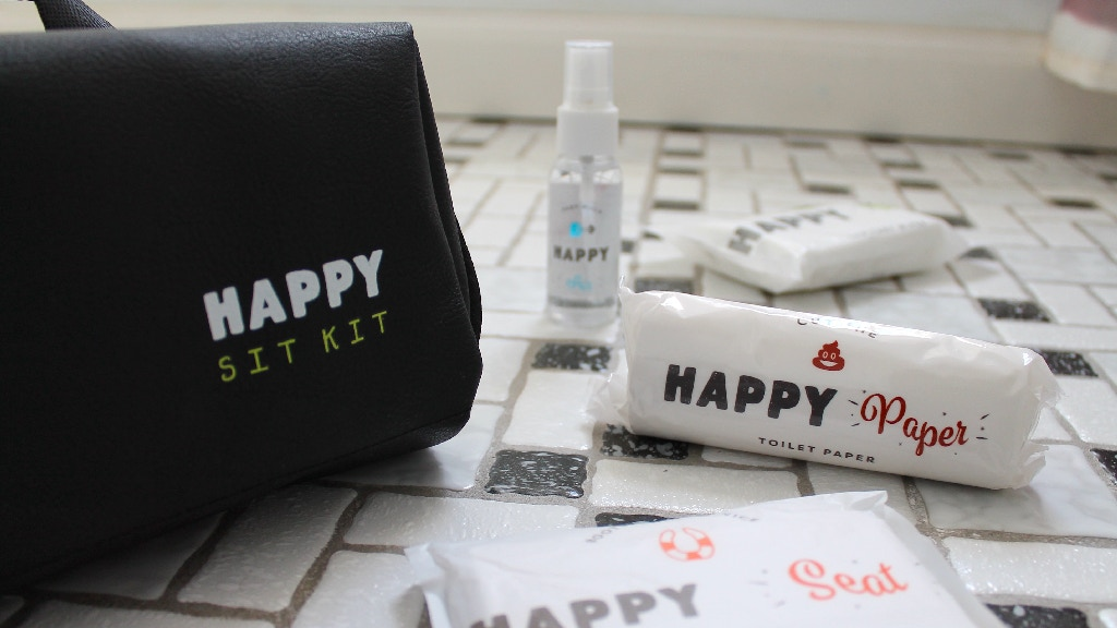 The Happy Sit Kit: The Ultimate Public Bathroom Survival Kit