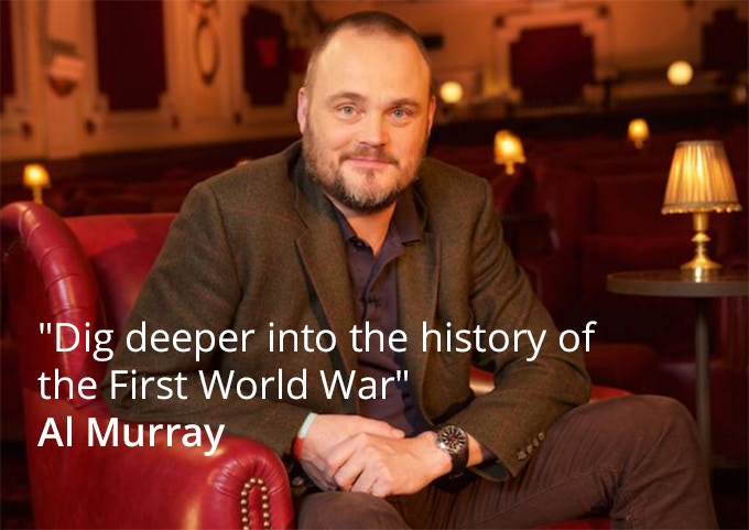 Al Murray, campaign patron. Pledge €50 or more to see Al Murray at our launch event in 2018.