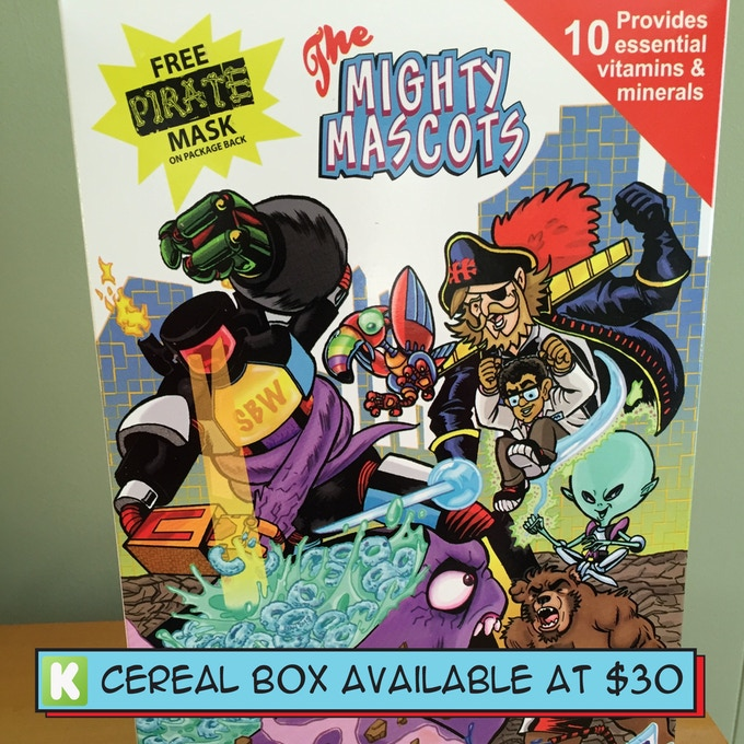 Cereal Box Reward!!