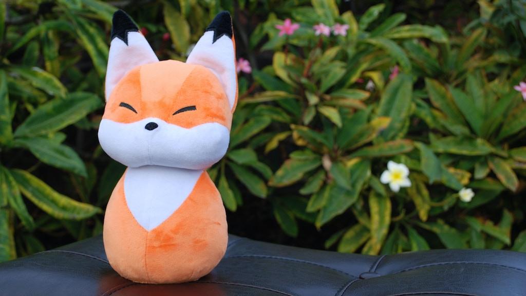 Forest Friend Fox Plush project video thumbnail