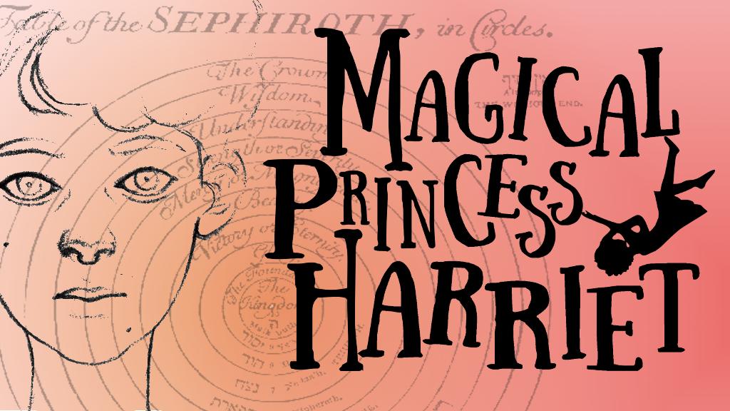 Magical Princess Harriet - a queer Jewish YA fantasy novel project video thumbnail