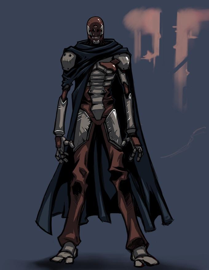 Bio-mech soldier