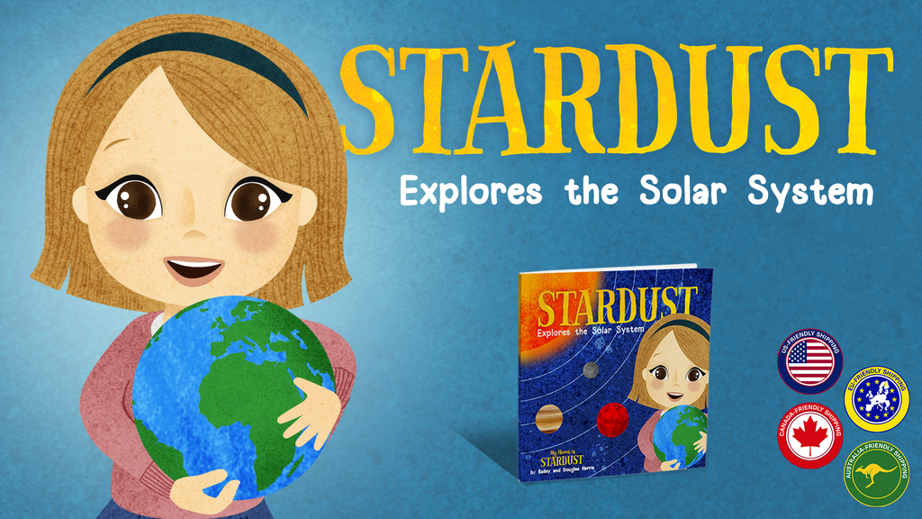 Stardust Explores the Solar System Children's Science Book project video thumbnail