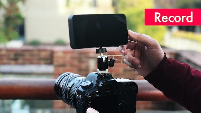 Enregistrement depuis un reflex numérique avec YoloBox