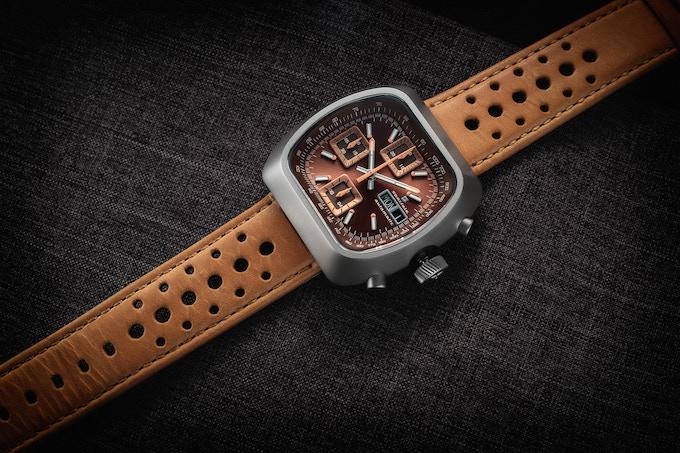 Matte case Automatic Version D brown/rust