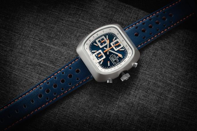 Matte case Automatic Version A blue