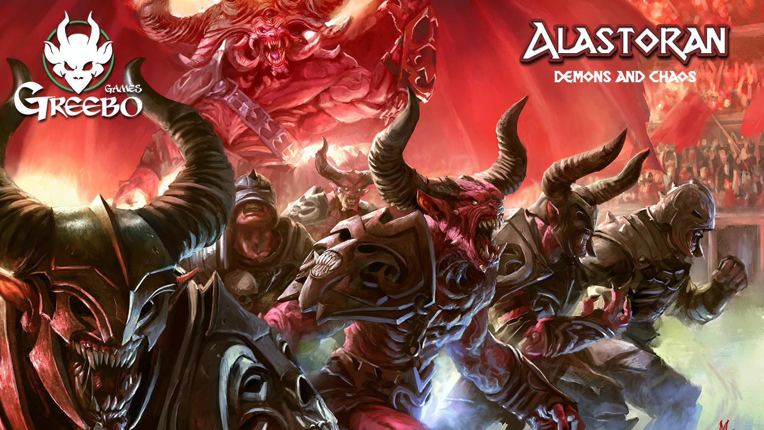 Greebo Games is proud to present you, Alastoran! More than 80 models in 32mm: all kind of chaos creatures are ready to play and win!