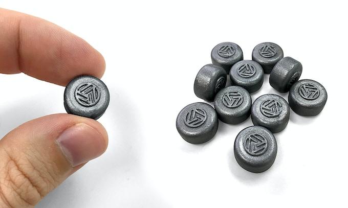ALUMA branded wax pellets