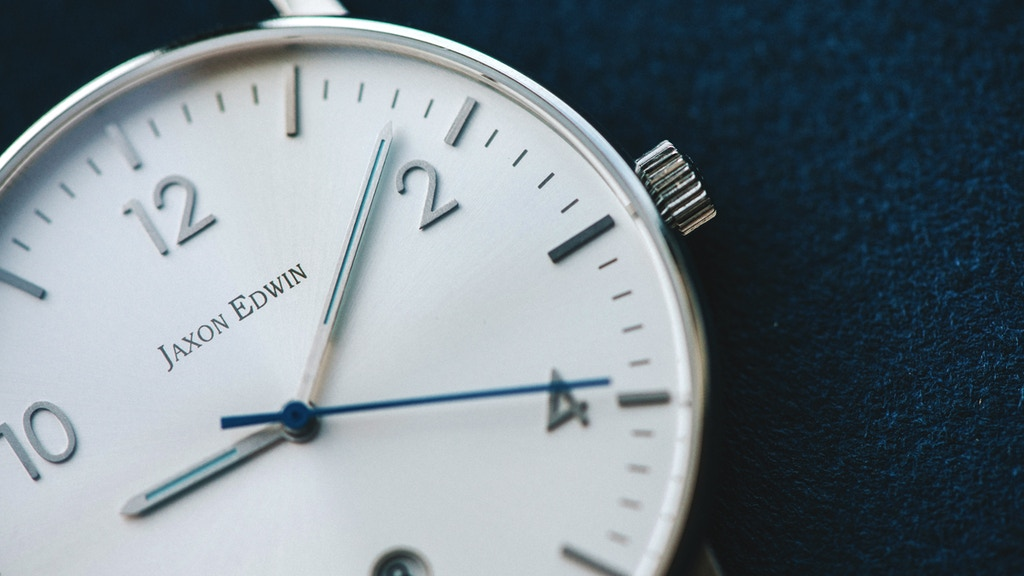 Minimalist Watches by Jaxon Edwin project video thumbnail