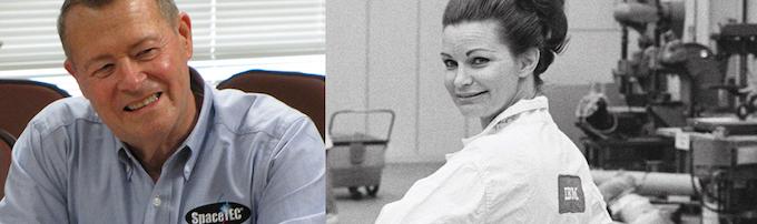 NASA Engineer, Al Koller, and Apollo IBM Contractor, Martha LeMasters