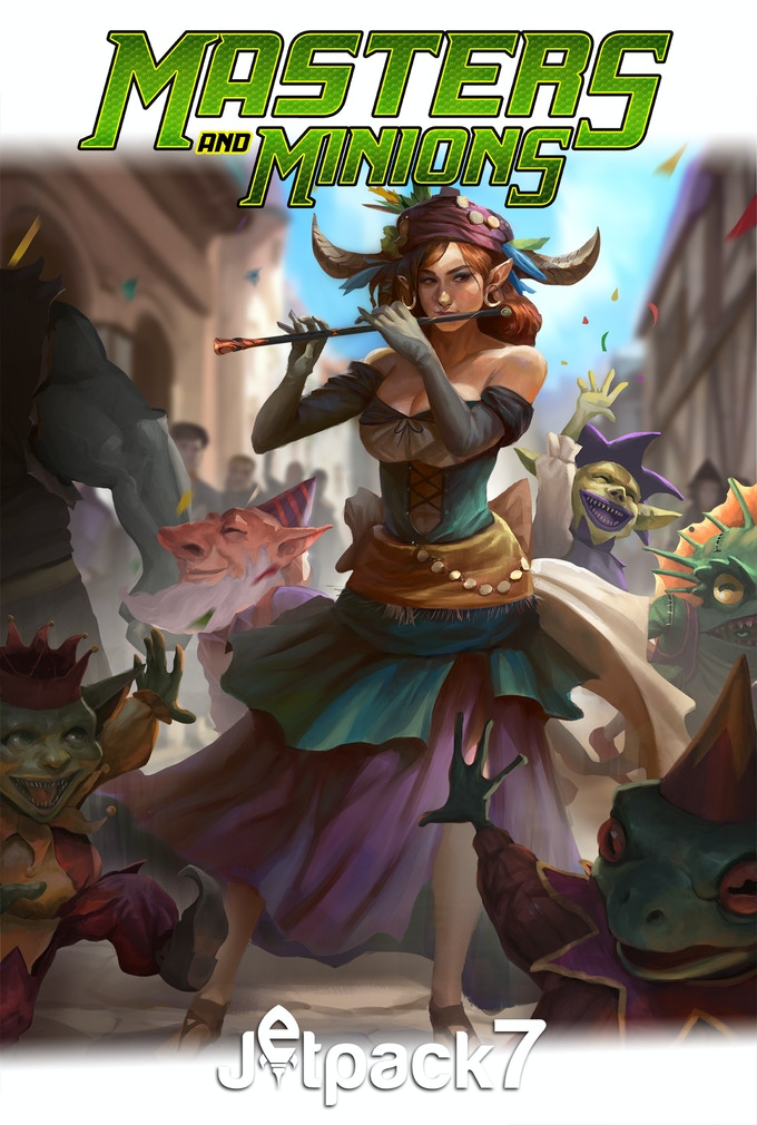 Illustration by Conceptopolis featuring the Ringleader and her Minions!