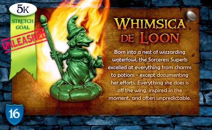 5k Stretch Goal Unleashed: Whimsica de Loon!