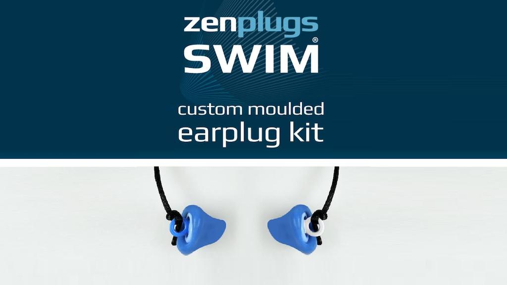 ZenPlugs Swim; Revolutionary Double-Action Swimming Earplugs