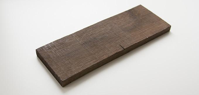 Milan wood keepsake #5: 2.625 x 7.625 x .375 in.