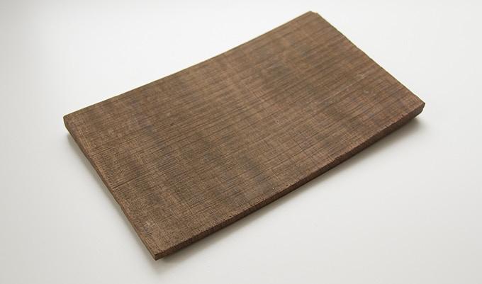 Milan wood keepsake #7: 4.375 x 7.375 x .3125 in.