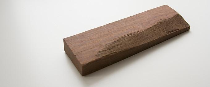 Milan wood keepsake #9: 2 x 6.625 x .5–.75 in.