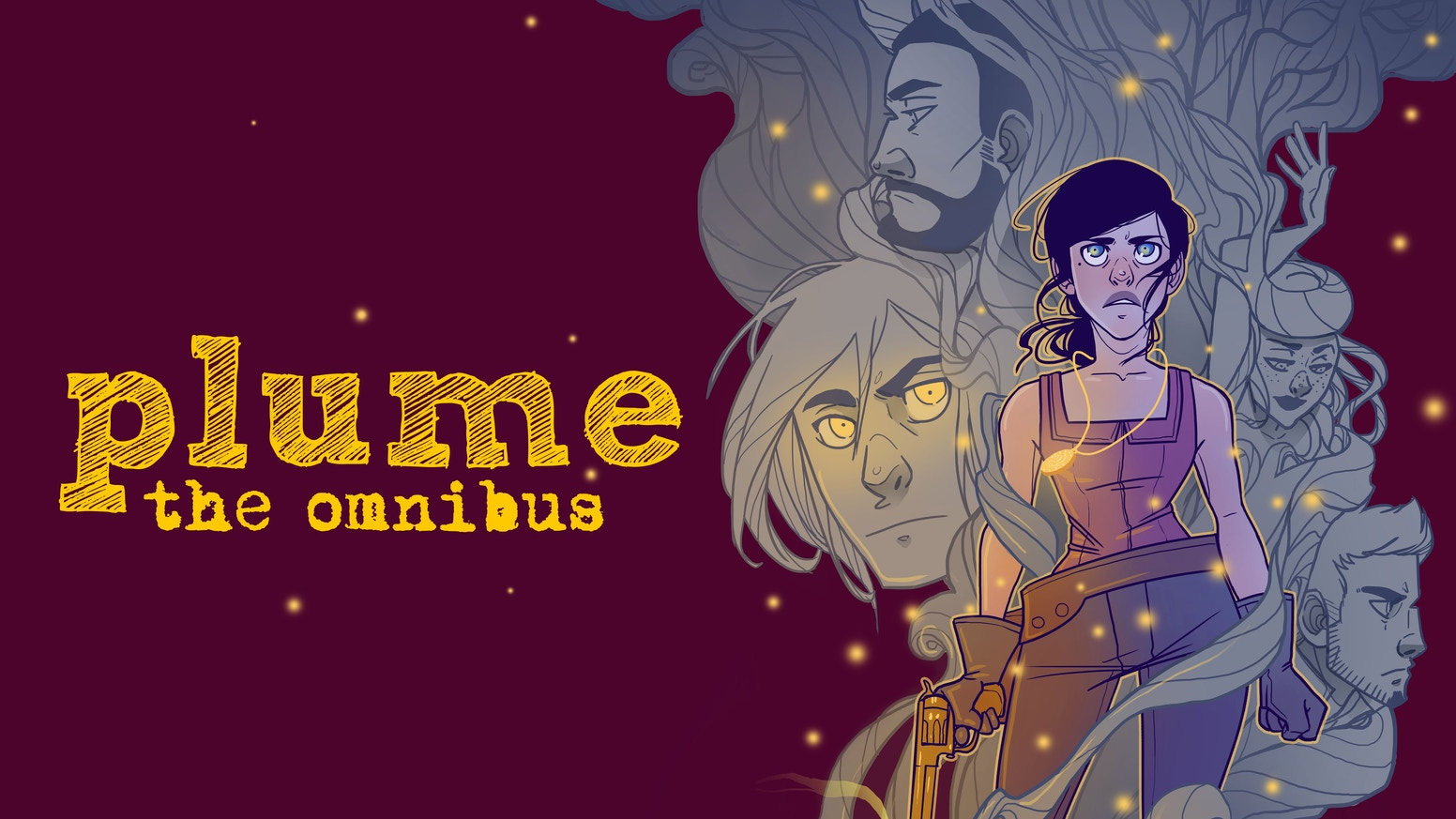 The popular western webcomic, PLUME comes to an end! Get the completed series in this exclusive omnibus edition.