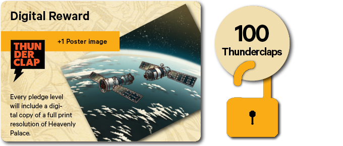 We have already unlocked one community stretch goal on Thunderclap before the campaign started!