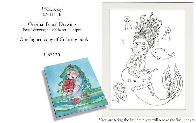 Speed Drawing 002 Coloring Book Art 1 4
