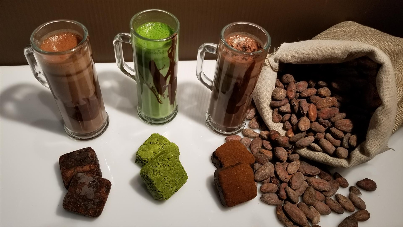 A whole food, rather than candy; Hot Chocolate Cubes are made with organic single origin cacao and raw, unrefined cane sugar.