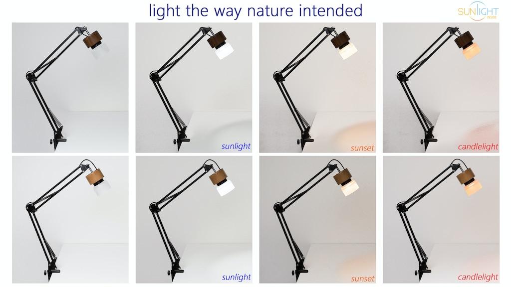 Sunlight Lamp - mySun Desk Lamp for Vision and Health