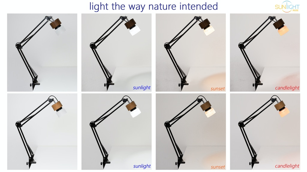 Sunlight Lamp - mySun Desk Lamp for Vision and Health project video thumbnail