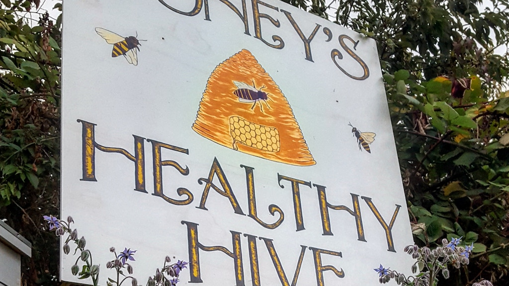 Update 1: Busy Bees · Small Farm Big Dreams Save the Bees Grow Healthy Food Local