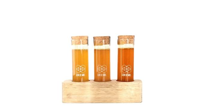 kit de mieles de abejas nativas